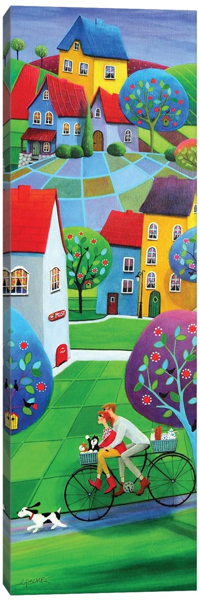 Spring Riders Canvas Art Print