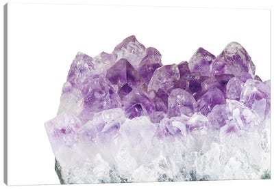 Amethyst Crystal Canvas Art Print