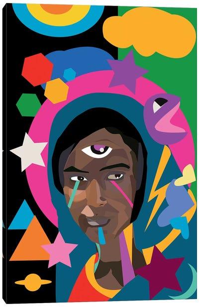 Ethiopian Madonne Canvas Art Print
