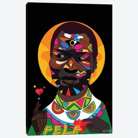 Fela Canvas Print #ILO12} by Indie Lowve Canvas Artwork