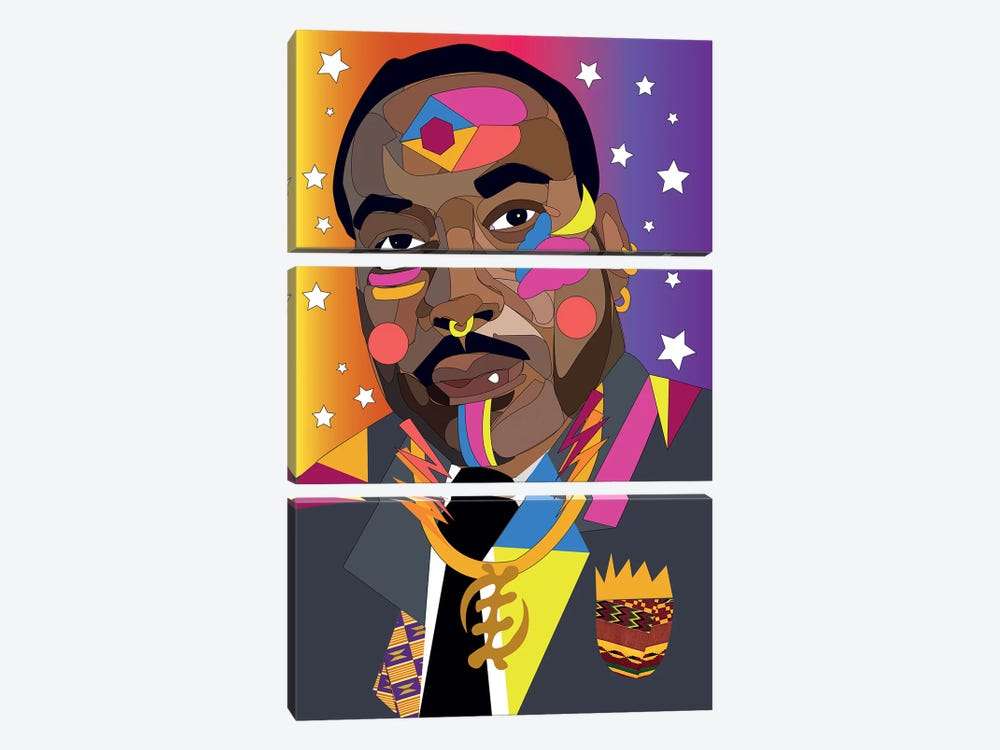 MLK by Indie Lowve 3-piece Canvas Art