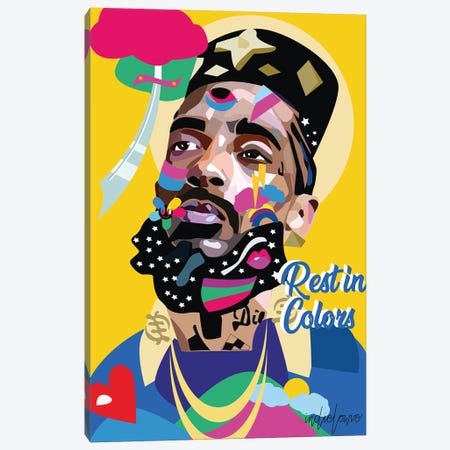 Nipsey Canvas Print #ILO22} by Indie Lowve Canvas Art Print
