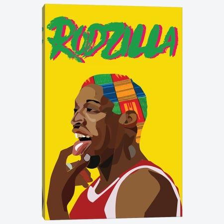 Rodzilla II Canvas Print #ILO28} by Indie Lowve Art Print