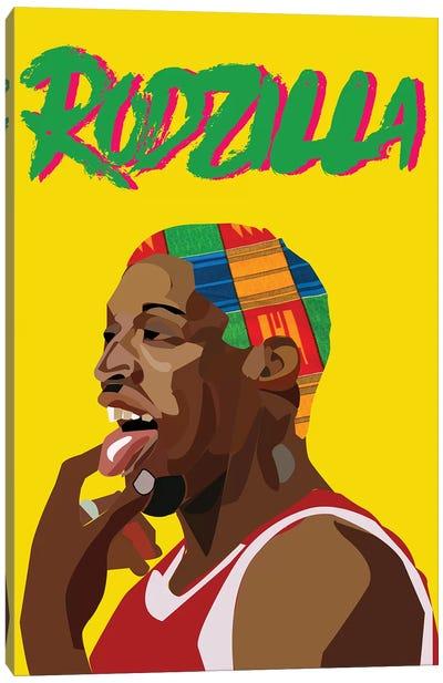 Rodzilla II Canvas Art Print