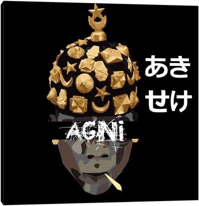 Agni Canvas Art Print