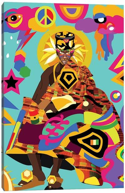 Goku Canvas Art Print