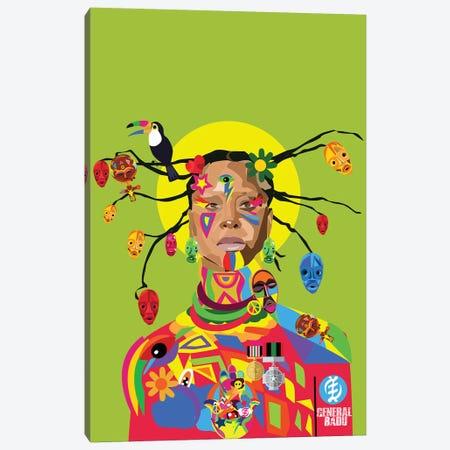 Badu  Canvas Print #ILO3} by Indie Lowve Canvas Art