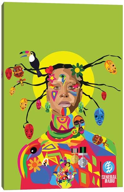 Badu  Canvas Art Print