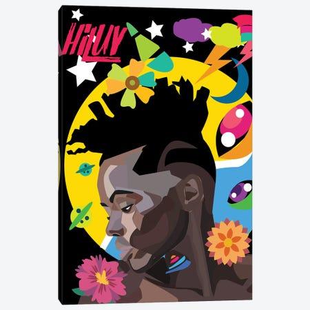 Hi Luv Canvas Print #ILO40} by Indie Lowve Art Print