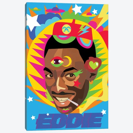 Eddie Canvas Print #ILO42} by Indie Lowve Art Print