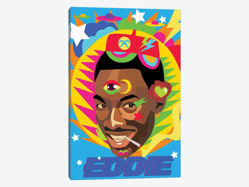 Eddie by Indie Lowve 1-piece Canvas Wall Art