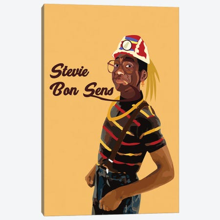 Urkel Canvas Print #ILO43} by Indie Lowve Canvas Print
