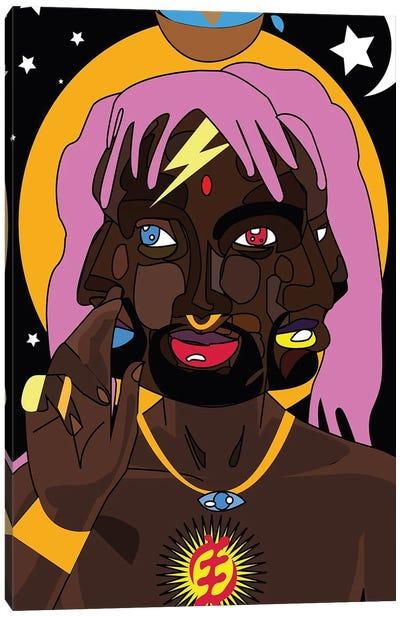 Mystical Adam Canvas Art Print