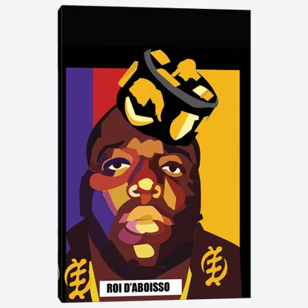 Biggie Canvas Print #ILO5} by Indie Lowve Canvas Print