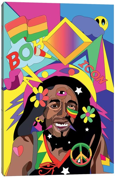 Bob  Canvas Art Print
