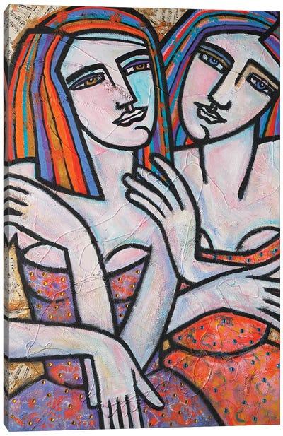 Sisterly Bond Canvas Art Print