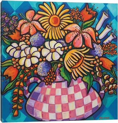 Spring Bouquet Canvas Art Print