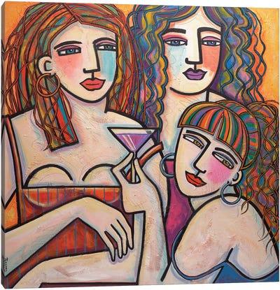 Pink Lady Canvas Art Print