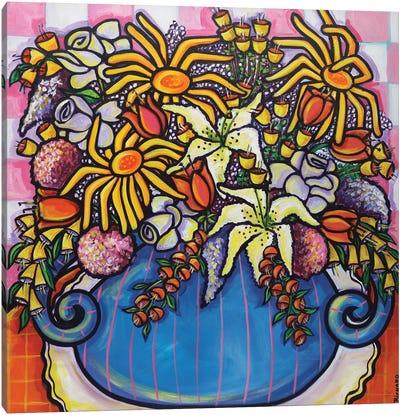 A Floral Embrace Canvas Art Print