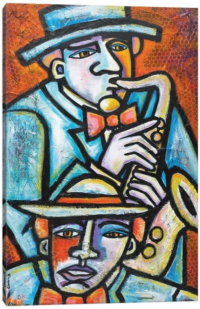 Jazz Men Canvas Art Print
