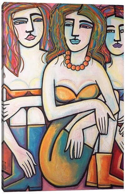 Just Chillin Canvas Art Print