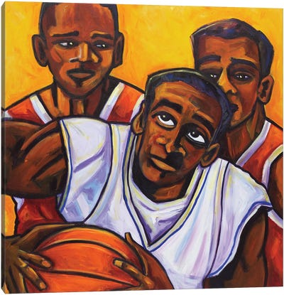 Hoops Canvas Art Print