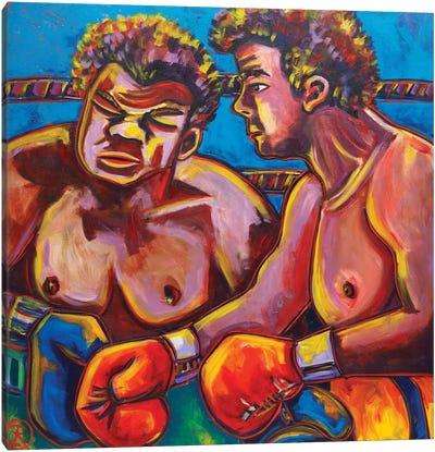 The Boxers Canvas Art Print