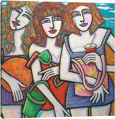Summer Friends Canvas Art Print