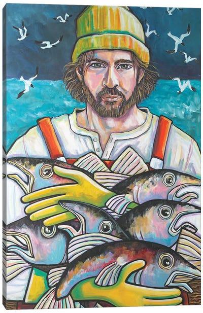 Fisherman Of Gloucester Canvas Art Print