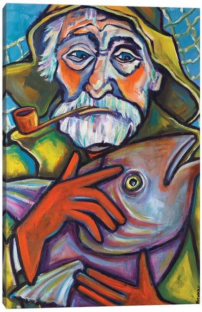 Gloucester Fisherman Canvas Art Print