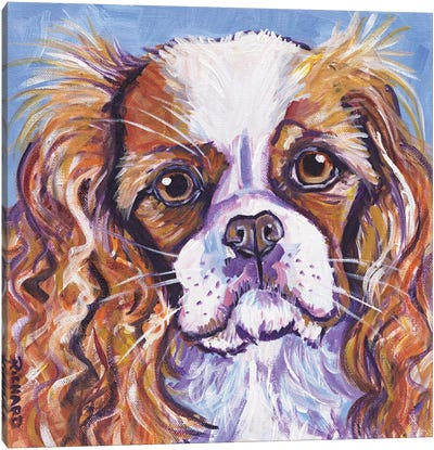 King Charles Canvas Art Print