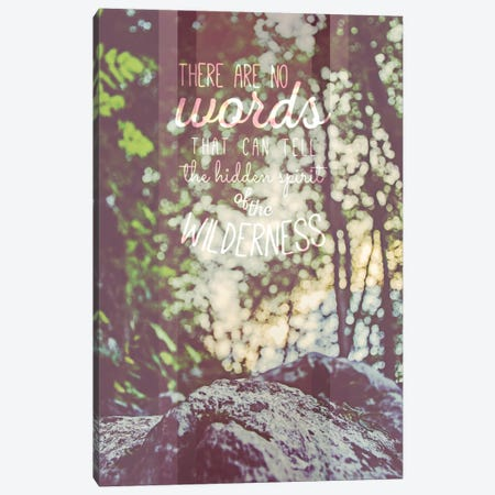 The Hidden Spirit Canvas Print #ILS10} by 5by5collective Canvas Art