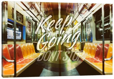 Keep Going Canvas Art Print