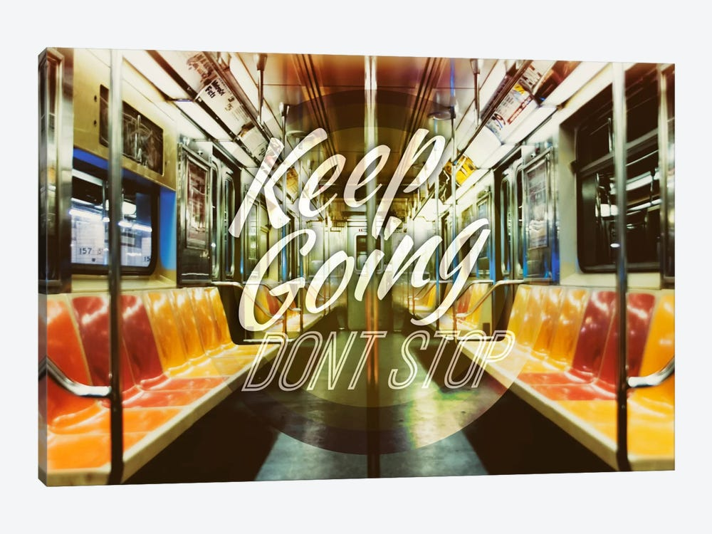 Keep Going by 5by5collective 1-piece Art Print
