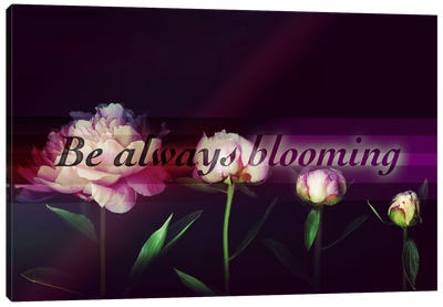 Always Blooming Canvas Art Print
