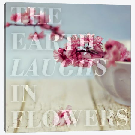 In Flowers Canvas Print #ILS16} by 5by5collective Art Print