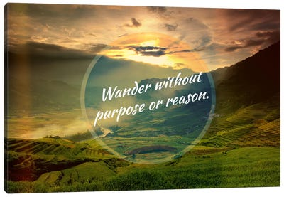 Wander Canvas Art Print