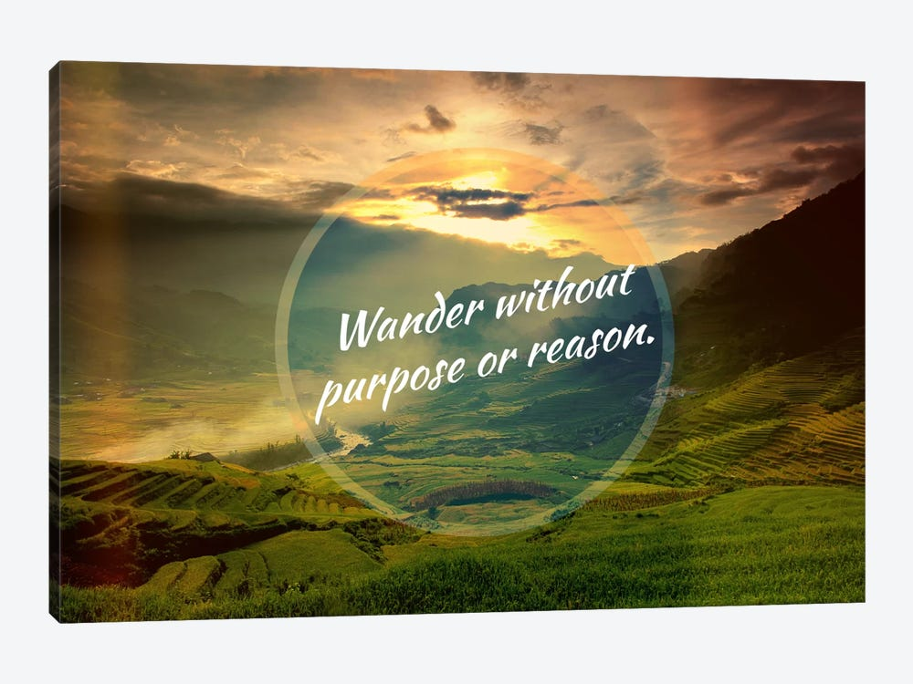 Wander by 5by5collective 1-piece Canvas Print
