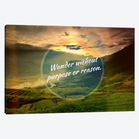 Wander Canvas Print #ILS20} by 5by5collective Canvas Print