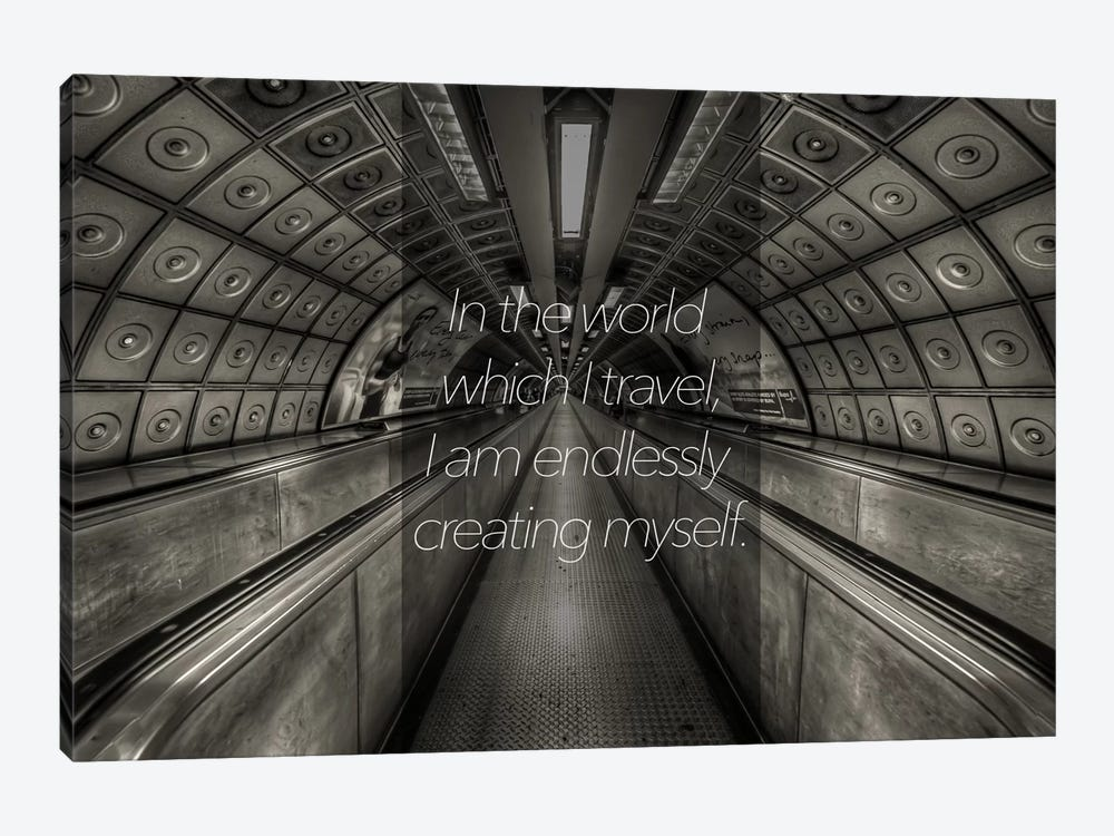 World Travels by 5by5collective 1-piece Canvas Print