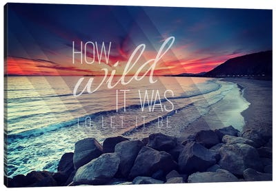 How Wild Canvas Art Print