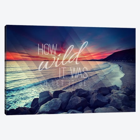 How Wild Canvas Print #ILS25} by 5by5collective Canvas Art