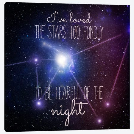 Loving the Stars Canvas Print #ILS30} by 5by5collective Canvas Artwork