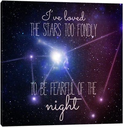 Loving the Stars Canvas Art Print