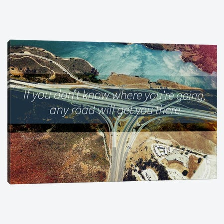 Where You're Going Canvas Print #ILS5} by 5by5collective Canvas Artwork