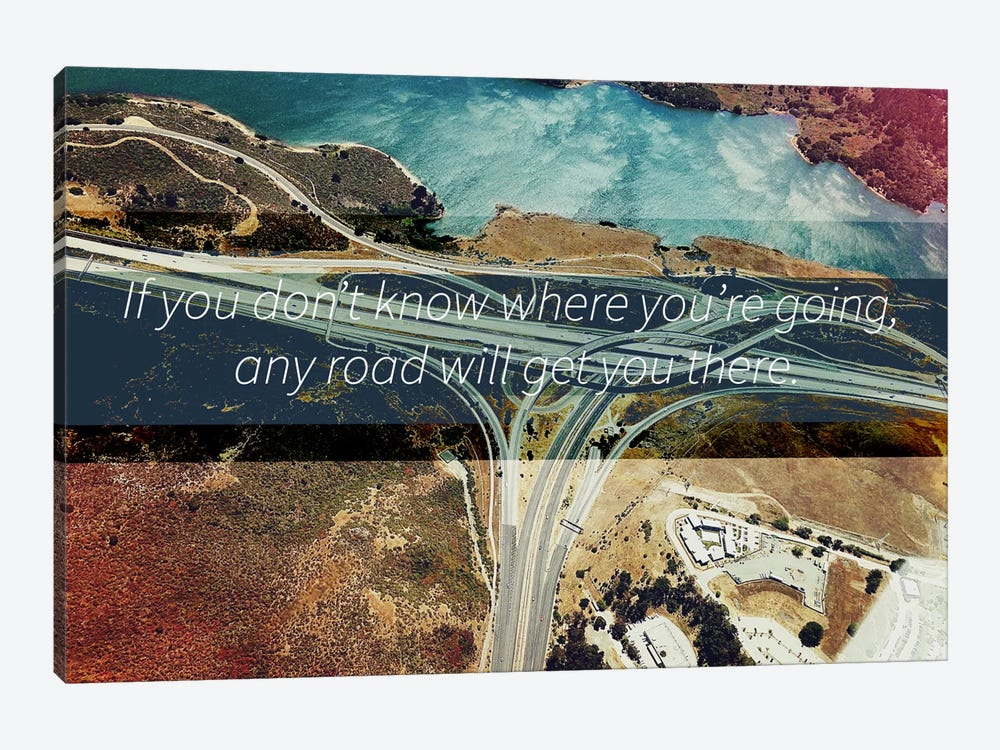 Where You're Going by 5by5collective 1-piece Canvas Artwork