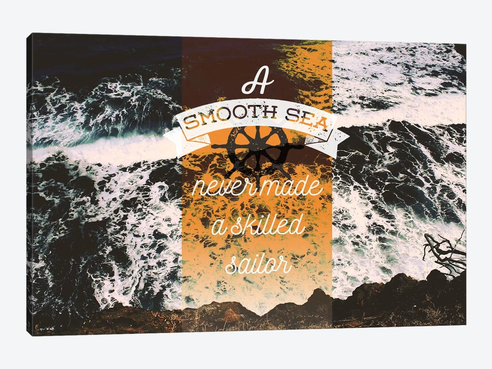 A Smooth Sea by 5by5collective 1-piece Canvas Wall Art