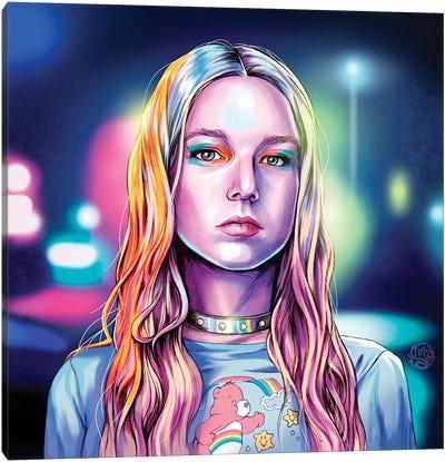 Hunter Schafer Canvas Art Print
