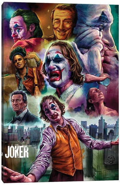 Joker Movie Poster Canvas Art Print