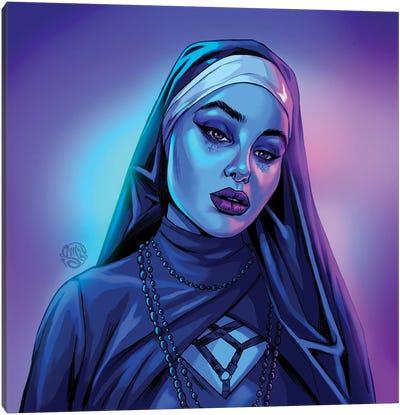 Kat Euphoria Canvas Art Print